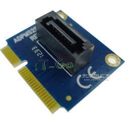 mSATA转SATA转接卡 mini SATA转7PIN SATA 3.0 固态硬盘 扩展卡图片