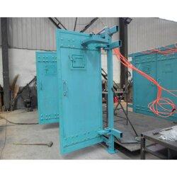 矿用自动无压风门多种材质各有优势图片