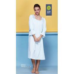 高领保暖长袖家居服套装贴牌 新款纯棉男女士睡衣代工图片