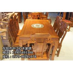 定制红木桌椅厂商-中江红木家俱-红木桌椅图片