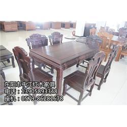 红木桌椅-红木桌椅-中江红木家俱胜在工艺图片