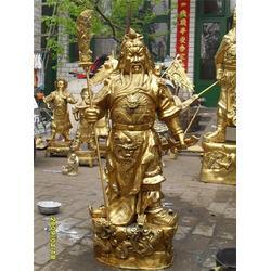 西藏铜关公-兴悦铜雕(优质商家)大型铜关公图片