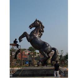 铜马厂家|新疆铜马|兴悦铜雕(查看)图片