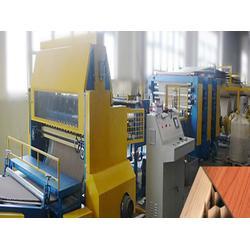 广西纸护角生产线、纸护角生产线厂家直销、无锡新正蜂窝机械图片