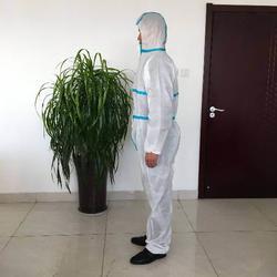 威德曼防护服厂家 pp无纺布防护服-临沂无纺布防护服图片
