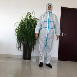 无纺布防护服-无纺布防护服-威德曼家纺用品厂图片