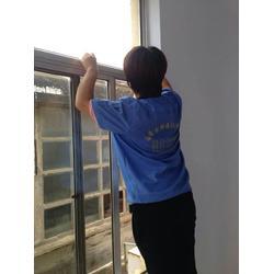 家庭玻璃清洗素质高-张店家庭玻璃清洗-淄博乐邦保洁有实力图片