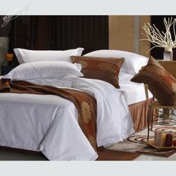 张掖酒店布草、宝阳棉织品、酒店布草订购图片