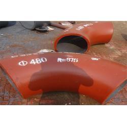 锡林郭勒耐磨弯头、宏科华管道专业生产、DN450耐磨弯头图片