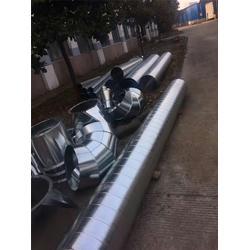 排油烟管道|台州共板法兰风管定做|布莱恩管道制造图片
