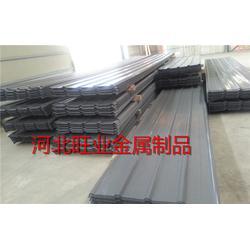 镀锌冲孔压型钢板|旺业(图)|镀锌冲孔压型钢板瓦楞型结构轻巧图片
