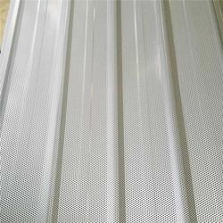 彩钢压型穿孔板、加工费低的彩钢压型穿孔板、润吉金属图片