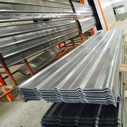 镀铝锌穿孔压型钢板规格与厚度_镀铝锌穿孔压型钢板_润吉(图)图片