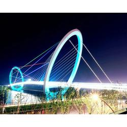 常州照明|山西玉展装饰工程|天桥亮化工程图片