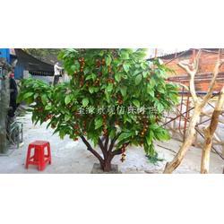酒店果树树_订做果树花_室外果树盆栽图片