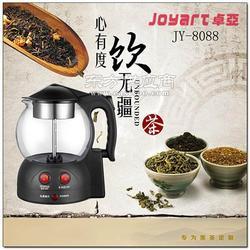 卓亚JY-8808煮茶器玻璃保温电水壶电茶壶煮蒸汽泡玻璃茶养生壶图片