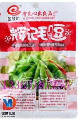 年末精选湘江特产开心蚕豆三边封彩印镀铝包装袋新鲜美味香酥蚕豆铝箔卷膜图片