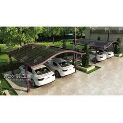 专业生产制作优质车棚别墅车棚定制车棚报价图片