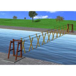 水面吊桥供货商图片