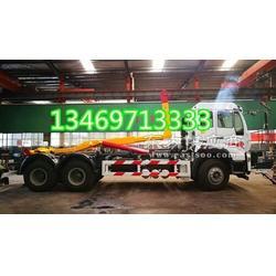 勾臂式垃圾车配18方压缩垃圾转运站厂家图片