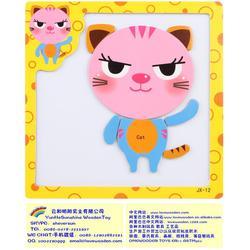 儿童磁性拼图(闪炫)明阳实业-杭州磁性拼图图片