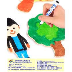 浙江涂鸦玩具、闪炫玩具【天然木材】、益智涂鸦玩具图片