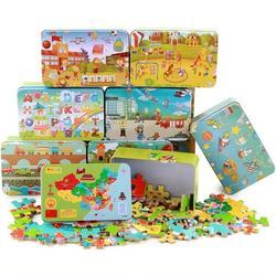 明阳闪炫-品牌玩具 铁盒拼图-铁盒拼图图片