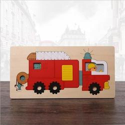 多层拼图厂家直销-木质玩具认准(闪炫)多层拼图图片