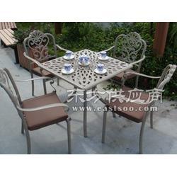岳麓区铸铝桌椅五件套图片