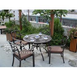 北湖区铸铝桌椅户外图片