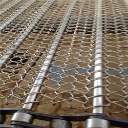 福州不锈钢网带_悦达链网厂家直销_耐高温不锈钢网带图片