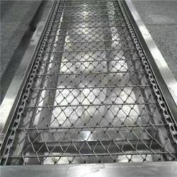 悦达链网自产自销-不锈钢螺旋式网带输送机图片
