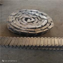 加长轴带挡片不锈钢链条|西安不锈钢链条|德州悦达链网厂家图片