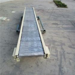 悦达链网厂家(图),铸造链板输送机,咸宁链板输送机图片