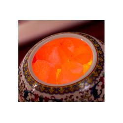 天然水晶盐灯、盐灯、盐灯的功效与作用图片