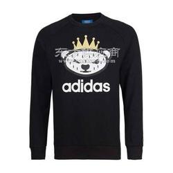 2016冬季加绒加厚纯棉运动套装运动套装运动套装品牌设计休闲套头衫图片