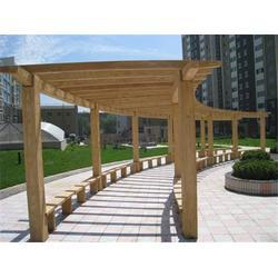 磐安仿木廊架-欧庭建筑-实力品牌-仿木廊架造价图片