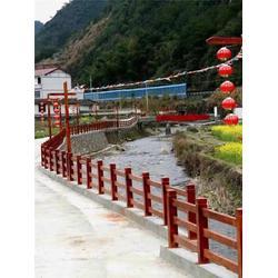 混凝土仿木栏杆安装、建德混凝土仿木栏杆、欧庭建筑—经久耐用图片