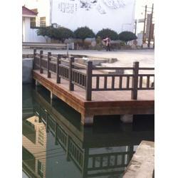 仿木栏杆,河堤仿木栏杆,欧庭建筑(优质商家)图片