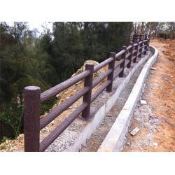 混凝土仿木栏杆|欧庭建筑(在线咨询)|浦江仿木栏杆图片