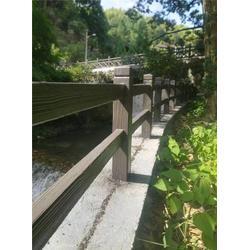 双交叉型仿木纹护栏、欧庭建筑(在线咨询)、仿木栏杆图片