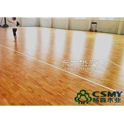 体育运动木地板生产安装一体图片