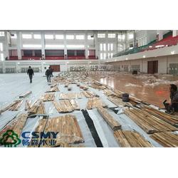 体育馆专用木地板厂商畅森体育公司图片
