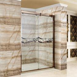 304不銹鋼淋浴門直銷、濟寧304不銹鋼淋浴門、博意衛浴圖片