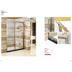禅城卫生间屏风隔断门,卫生间屏风隔断门厂,博意卫浴图片
