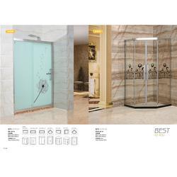 博意不繡鋼衛浴門、中山浴室玻璃門品牌圖片
