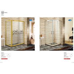 顺德卫生间屏风隔断门,卫生间屏风隔断门定制,博意卫浴图片