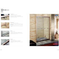 博意卫浴淋浴房厂家_甘肃浴室玻璃门供应商图片