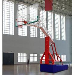 学校移动式篮球架厂家专业生产工艺图片