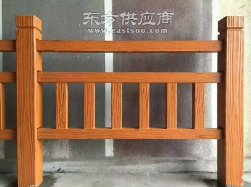 莱山区仿木护栏-压哲艺术围栏-仿木护栏多少钱图片